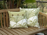 Coastal Pillows Palm Leaf Small