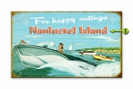Custom Boating Sign Nantucket
