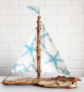Driftwood Sailboat Aquasea