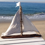 Driftwood Sailboat Linen