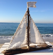 Driftwood Sailboat Malibu