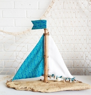Driftwood Sailboat Nantucket