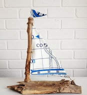 Driftwood Sailboat Nautical Charts