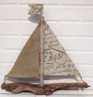 Driftwood Sailboat Paris