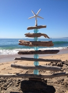 Driftwood Tree Natural/Aqua