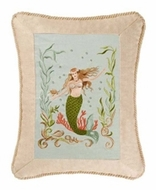 Embroidered Mermaid Pillow 1