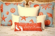 Island View Pillow Collection Coastal Pillows