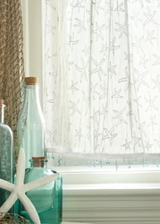 Lace Starfish Curtains