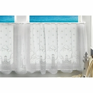 Lighthouse Curtain/Tier 60x24