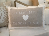 "Linen ""I left my Heart In Seal Beach"""