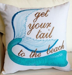 Mermaid Pillow Get your Tail to the Beach