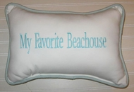 My Favorite Beach House Pillow