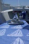 Nautical Coastal Seashell Tablecloths