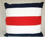 Nautical Pillow letter C