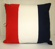 Nautical Pillow letter T