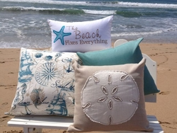 Nautical Pillows Indoor Outdoor Harborside