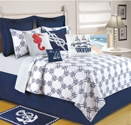 Nautical Quilt King Harbor Point