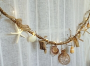 Nautical Seashell and  Driftwood Garland
