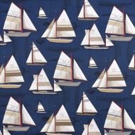 Nautical Shower Curtain Newport Harbor