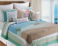 New England Coastal Queen Quilt