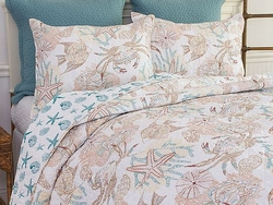Saltwater Cottage Bedding Twin Quilt Set