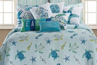 Sea Turtle Queen Quilt