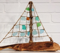 Seaglass Sailboat