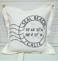 Seal Beach Seal Pillow