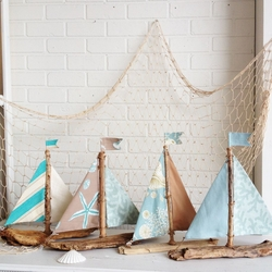 Seaside Sailboats