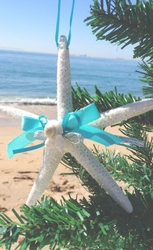 Starfish and Seashell Ornament