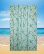 Starfish Shower Curtain Tidepool