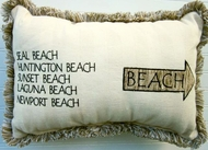 Surf Spots Pillow