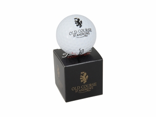 Old Course Single Gift Pack Logo Ball
