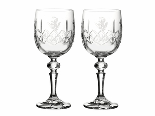 Old Course Set of 2 Wine Glasses