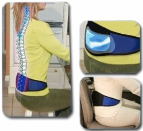 """Back Pain Relief """"Air"""" Belt (WHILE SUPPLIES LAST - ONLY 76 LEFT!"""