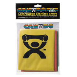 Low Powder Exercise Band Pep Packs