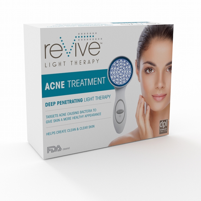(WHILE SUPPLIES LAST) BLUE LIGHT Revive Hand Held Device for Acne