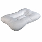 BACKORDER Fiber Filled Cervical Indentation Sleep Pillow