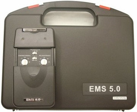 LG 5.0  Electronic Muscle Stimulator Unit with Hard Carrying Case, Electrodes, and Battery Included