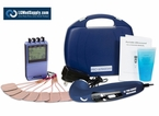 """ULTRA ELITE COMBO"" SERIES - 8 Electrode TENS, Muscle Stimulator, Russian, Interferential and Ultrasound Therapy Kit"