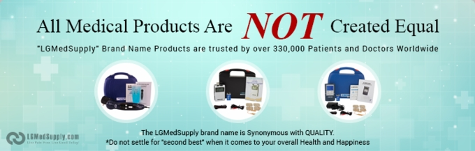 """""""LG-PROCOMPLETE"""" TENS, Muscle Stimulator, and Ultrasound Unit Complete Professional Treatment System"""