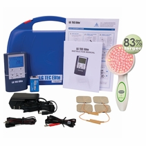 "NEW PRODUCT ALERT - ""SOUND MEETS LIGHT"" LG-TEC ELITE TENS/EMS/Deep Penetrating Light Therapy Combo (LG-ALLIANCE)"
