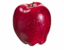 "1 Dozen - Artificial 3"" Weighted Red Delicious Apple"