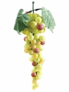 "1 Dozen 10"" Artificial Grape Clusters -Shown in Burgundy Black"