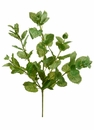 "1 dozen - 16"" Artificial Peppermint Leaf Bushes"