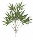 "1 Dozen - 28"" Silk Marijuana Plants"