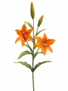 "1 Dozen - 31"" Artificial Day Lily Sprays (Shown in Orange)"