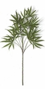 1 Dozen - Silk Marijuana Plants in Green - 50 inches in Height