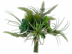 "10.5"" Artificial Succulent Cactus Garden Bouquet - Set of 6"