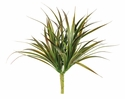 "10"" Artificial Plastic Yucca Fern Bush - Set of 24"